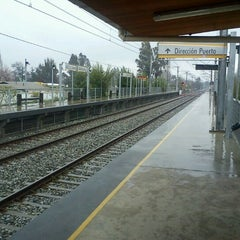 Photo taken at Metro Valparaíso - Estación Sargento Aldea by Lucheein A. on 8/24/2011