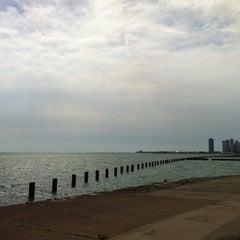 Photo taken at Fullerton Beach by Frederico P. on 9/5/2012