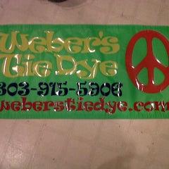 Photo taken at Weber's Tie dye by Eldon W. on 12/16/2011