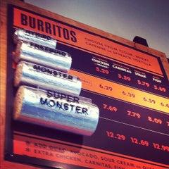 Photo taken at Freebirds World Burrito by Jane A. on 10/28/2011