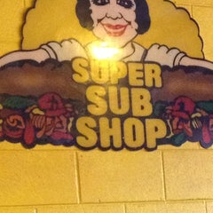 Photo taken at Super Submarine Sandwich Shop by Jacquelyn R. on 6/9/2012
