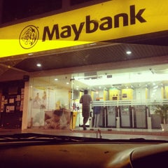 Photo taken at Maybank by A. Athira I. on 6/21/2012