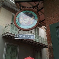 Photo taken at Ye Old Absinth by John G. on 9/8/2012