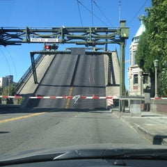 Photo taken at Montlake Bridge by Susan W. on 8/3/2012