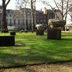 Photo taken at Berkeley Square by Peter d. on 3/21/2012