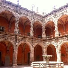 Photo taken at Museo de Arte de Queretaro by Daniel H. on 6/24/2012