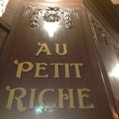 Photo taken at Au Petit Riche by Nathalie W. on 3/15/2012