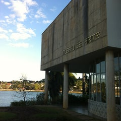 Photo taken at Museu de Arte da Pampulha by Fabricia J. on 8/11/2012
