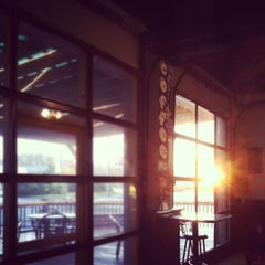 Photo taken at Cafe Kava by Robbie B. on 1/18/2012