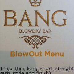 Photo taken at BANG BLOWDRY BAR by Kate L. on 6/16/2012
