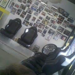 Photo taken at Chop Shop Barbershop, Miami by NataschaOS on 3/24/2012