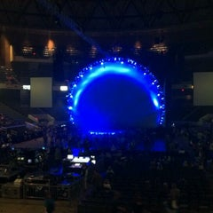 Photo taken at Richmond Coliseum by Katie B. on 3/25/2012