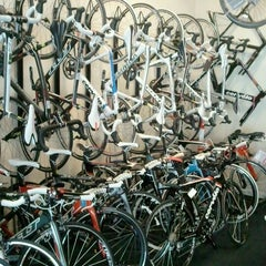 Photo taken at Strictly Bicycles by Kumiko A. on 1/8/2012