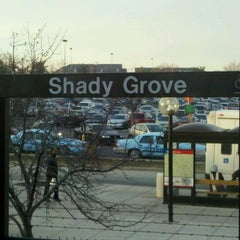 Photo taken at Shady Grove Metro Station by Bruhdude C. on 1/6/2011