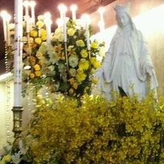 Photo taken at Gereja Katolik Santo Yohanes Penginjil by Cicilia H. on 5/27/2012