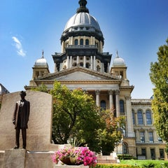 Photo taken at Illinois State Capitol by Cory S. on 9/6/2012