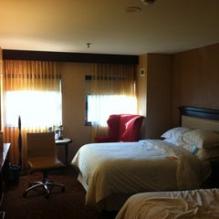 Photo taken at Sheraton Springfield at Monarch Place by Andrew S. on 4/13/2012