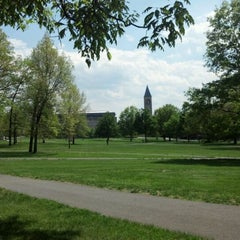 Photo taken at Arts Quad by Ian P. on 5/13/2012