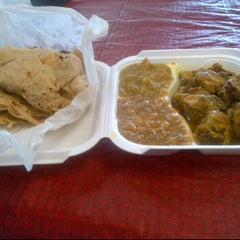 Photo taken at Shalama's Roti Shop by Matt J. on 1/25/2012