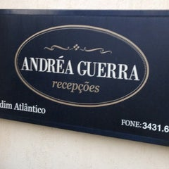 Photo taken at Andréa Guerra Recepções by Thiago A. on 5/26/2012