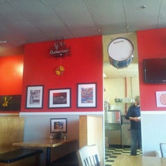 Photo taken at Mia's Pizza & Eats by Allan C. on 12/17/2011