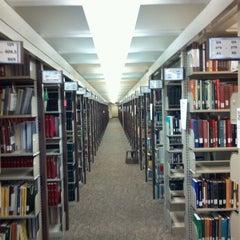 Photo taken at TTU - Texas Tech University Library by Mark S. on 9/21/2011