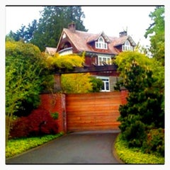 Photo taken at Kurt Cobain's House by Kenny H. on 5/18/2012