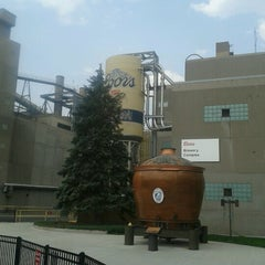 Photo taken at Coors Brewing Company by Tom K. on 8/15/2012