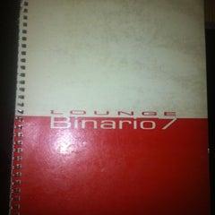 Photo taken at Lounge Binario 7 by Giorgio B. on 9/17/2011