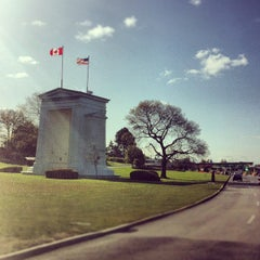 Photo taken at Peace Arch Border Crossing by Joyce L. on 5/9/2012