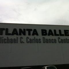 Photo taken at Michael C. Carlos Dance Centre - Atlanta Ballet by Jeannette kyungmin K. on 7/27/2012