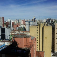 Photo taken at Master Express Curitiba by Tiago Augusto E. on 7/21/2012