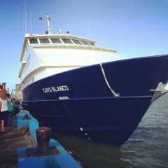 Photo taken at Cayo Blanco by Damien H. on 2/26/2012