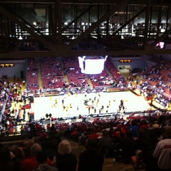 Photo taken at Fifth Third Arena by Mike W. on 1/30/2011