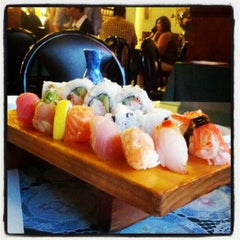 Photo taken at Pacific Cabin Sushi by Charlie C. on 8/3/2012