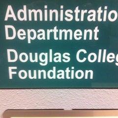 Photo taken at Douglas College (David Lam Campus) by Doug M. on 11/4/2011