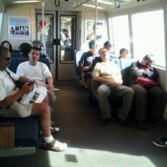 Photo taken at Lake Merritt BART Station by Andrea &. on 9/12/2012