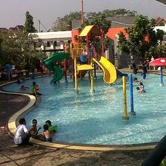 Photo taken at Kolam Renang by Agusmbot G. on 7/8/2012