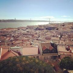 Photo taken at Castelo de São Jorge by Dmitry P. on 8/24/2012