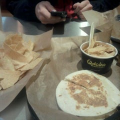 Photo taken at Qdoba Mexican Grill by Julia E. on 1/11/2012