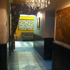 Photo taken at Antik City Hotel Prague by Anna P. on 8/17/2012