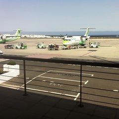 Photo taken at Terminal 2 Aeropuerto de Lanzarote (ACE) by María L. on 8/16/2011