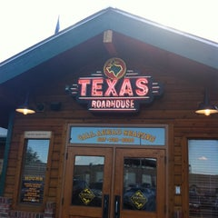 Photo taken at Texas Roadhouse by Sarah K. on 7/15/2011