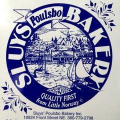 Photo taken at Sluys Poulsbo Bakery by Kristin K. on 2/25/2012
