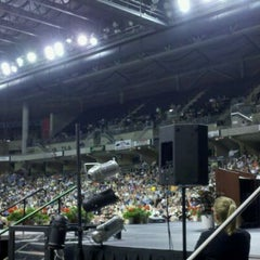 Photo taken at St. Charles Family Arena by Ruben M. on 5/14/2011