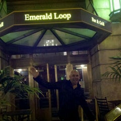 Photo taken at Emerald Loop Bar and Grill by Jessica R. on 10/17/2011