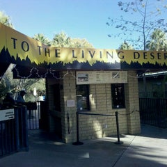 Photo taken at The Living Desert Zoo & Botanical Gardens by Mike S. on 12/7/2011