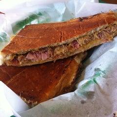 Photo taken at Pilar Cuban Eatery by Craig B. on 3/5/2011