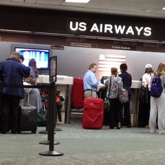 Photo taken at US Airways Ticket Counter by Javier F. on 3/11/2012
