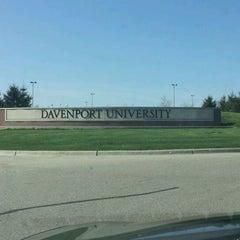 Photo taken at Davenport University Academic Building by Veronica B. on 3/26/2012